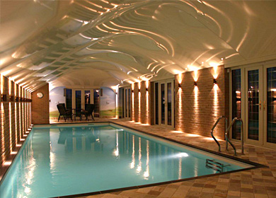 <h3>Private home swimming pool ceiling - Oxford </h3>